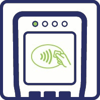 Contactless payment screen
