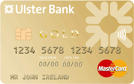 Credit cards personal banking ulster bank gold credit card reheart Choice Image